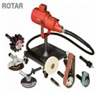 Polizoare electrice trifazice cu ax flexibil ROTAR